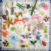 Пошаговое плетение из бисера на проволоке и леске,  детям с 7 лет.